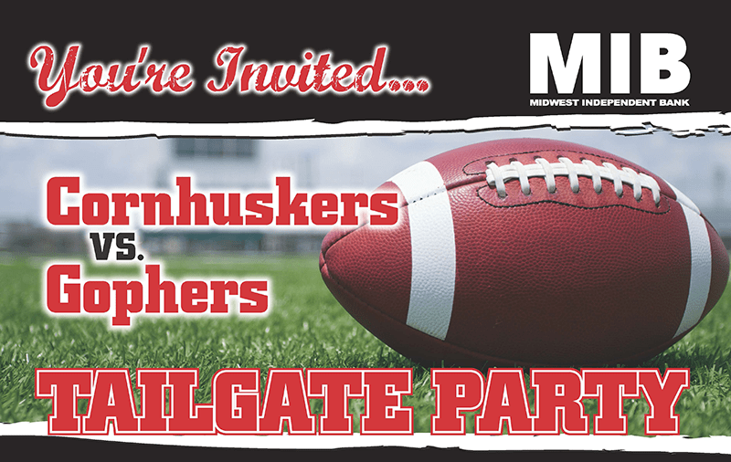 NE Tailgate Event – Cornhuskers vs Gophers